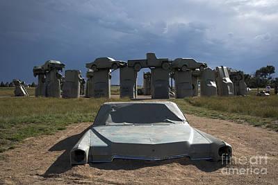 Photograph - Carhenge by Jim West