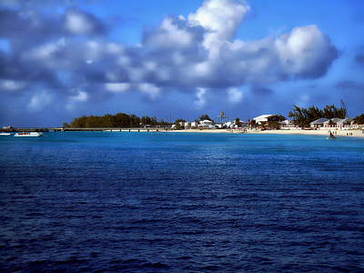 Photograph - Caribbean Sea And Beach by Anthony Dezenzio