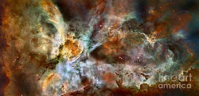 Digital Art - Carina Nebula by Nicholas Burningham