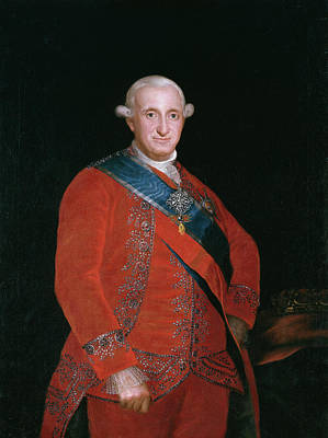 Royal Painting - Carlos Iv, Rey De Espana by Francisco Goya