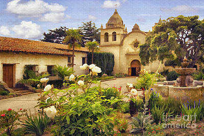 Photograph - Carmel Mission by Sharon Foster