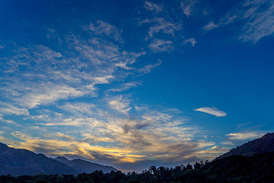 Photograph - Carmel Valley Sunset by Derek Dean