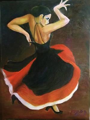 Painting - Carmen by Sylva Zalmanson