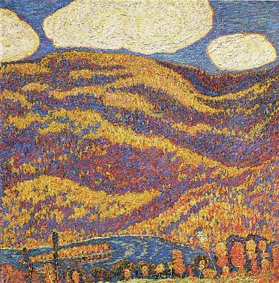 Photograph - Carnival Of Autumn by Marsden Hartley