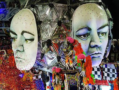 Photograph - Carnival Rio De Janeiro 30 by Bob Christopher