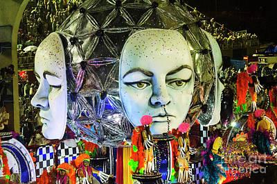 Photograph - Carnival Rio De Janeiro 32 by Bob Christopher