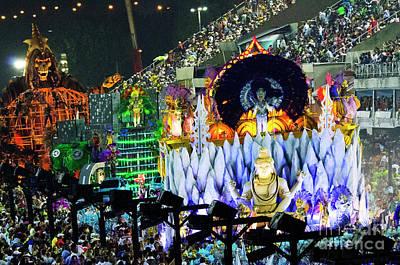 Photograph - Carnival Rio De Janeiro 35 by Bob Christopher