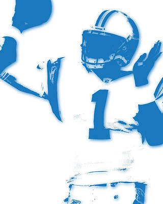 Cam Newton Photograph - Carolina Panthers Cam Newton by Joe Hamilton