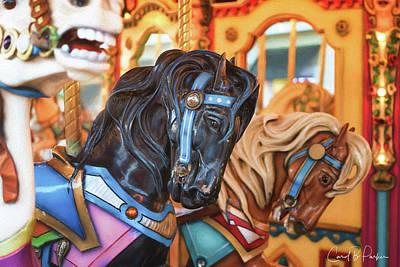 Carousel Horses Trio #1 Original