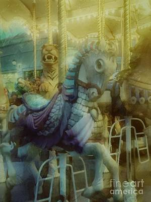Photograph - Carousel  by Jenny Revitz Soper