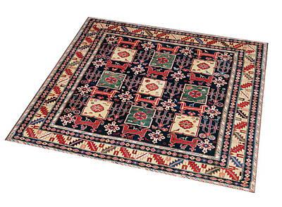 Persian Carpet Digital Art - Carpet - 3d Render by Elenarts Elena Duvernay photography