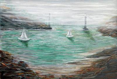 Carquinez Strait Original by Robert Hoffman