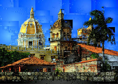 Digital Art - Cartagena Colombia by Rafael Salazar