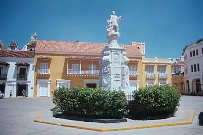 Photograph - Cartagena Square by David Cardona