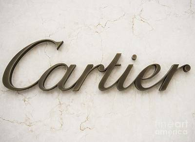 Photograph - Cartier by David Bearden