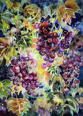 Painting - Cascade by Ann Nicholson