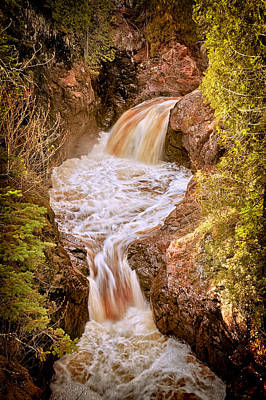 Photograph - Cascade River Falls by Susan Rissi Tregoning