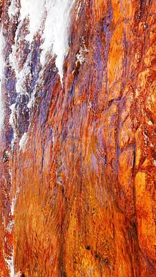 Photograph - Cascading Water, Litchfield National Park by Lexa Harpell