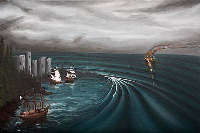 Painting - Castaway by Ronnie Jackson