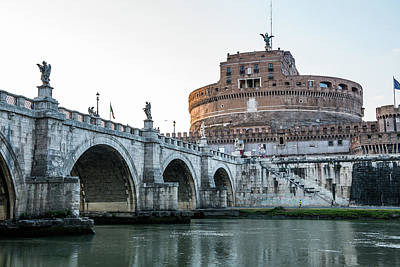 Photograph - Castel Sant'angelo by Joseph Yarbrough