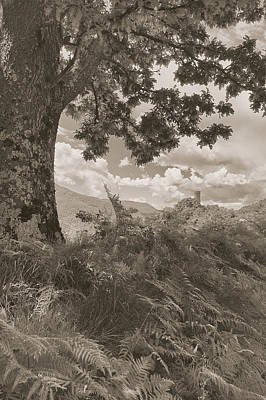 Photograph - Castello Di Comano by Nigel Fletcher-Jones