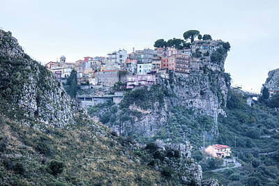 Castelmola - Sicily Art Print