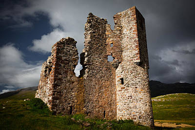 Photograph - Castle In Ruins by Avril Christophe