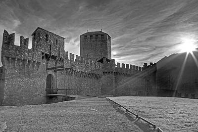 Battlements Photograph - Castle by Joana Kruse
