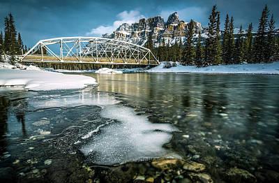 Castle Mountain Banff National Park Original by Yves Gagnon