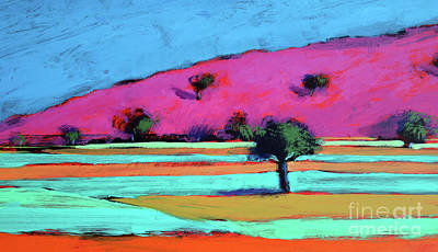 Tree Plantation Painting - Castlemorton Iv  by Paul Powis