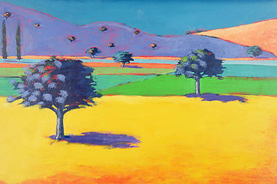 Vivid Colour Painting - Castlemorton  by Paul Powis