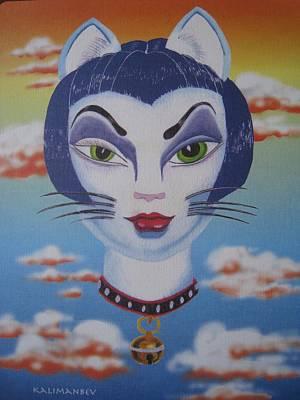 Cat Ho Art Print by Roger Golden