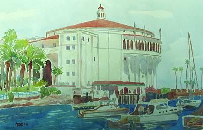 Catalina Island Art Print by Azor Martinez