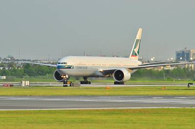 Photograph - Cathay Pacific by Puzzles Shum