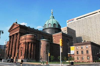 Photograph - Cathedral Basilica Of Saints Peter And Paul Philadelphia by Matt Harang