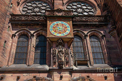 Cathedral Of Our Lady Strasbourg Alsace France Art Print by Marco Arduino