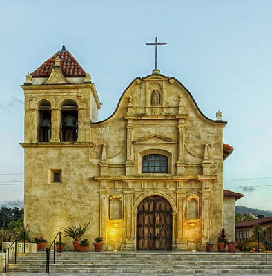 Entrance Door Photograph - Cathedral Of San Carlos Borromeo by Mountain Dreams
