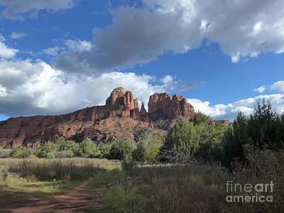 Photograph - Cathedral Rock Sedona by Marlene Rose Besso