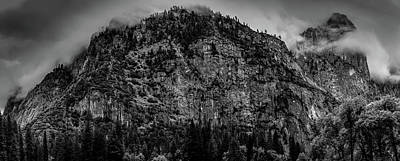 Yosemite Photograph - Cathedral Rocks, Yosemite National Park by Gareth Burge Photography