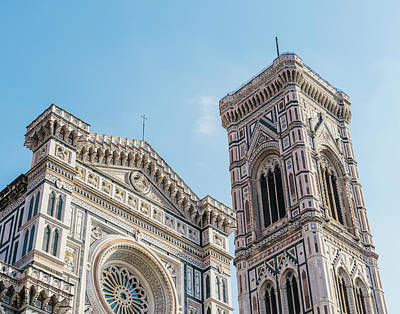 Cattedrale Di Santa Maria Del Fiore Is The Main Church Of Floren Art Print