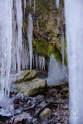 Photograph - Cave Of Ice by Jennifer White