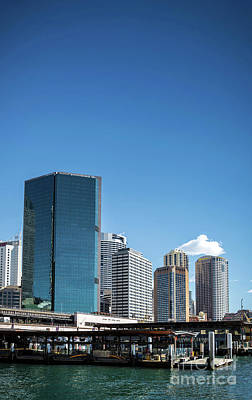 Photograph - Cbd Central Business District And Circular Quay Area Sydney Aust by Jacek Malipan