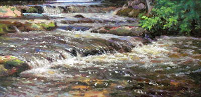 Cedar Creek Art Print by Larry Seiler