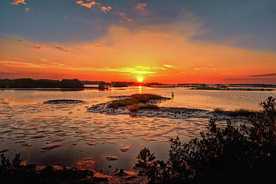 Photograph - Cedar Key by John M Bailey