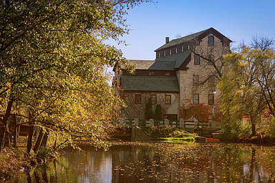 Photograph - Cedarburg Mill by James Meyer