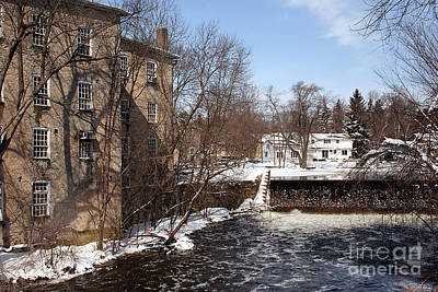 Photograph - Cedarburg Winter #5 by PJ Boylan