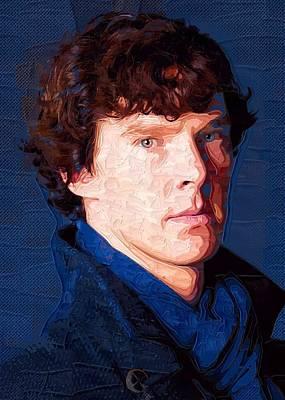 Celebrity Benedict Cumberbatch  Art Print by Best Actors