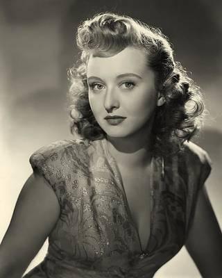 Celeste Photograph - Celeste Holm 1947 by Mountain Dreams