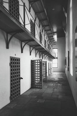 Photograph - Cell Block by Library Of Congress