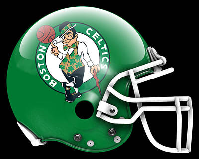 Celtics What If Its Football Art Print by Joe Hamilton